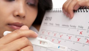 сбой менструационного цикла