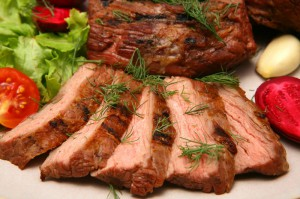 отварное мясо