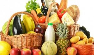 овощи фрукты и хлеб